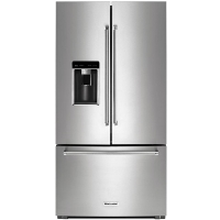 KitchenAid KRFC704FPS French Door Refrigerator - 35.8 inch - 23.8 cu ft - Stainless Steel - New w/Tiny Cosmetic Blemish