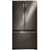 LG LFC21776D 21 cu. ft. French Door Counter-Depth Refrigerator - Black Stainless Steel - New w/Tiny Cosmetic Blemish