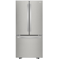 LG LFCS22520S 21.8 cu. ft. French Door Refrigerator in Stainless Steel - New w/Tiny Cosmetic Blemish