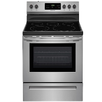 Frigidaire LFEF3054TF Smooth Surface Freestanding 5-Element 5.4-cu ft Self-Cleaning Electric Range