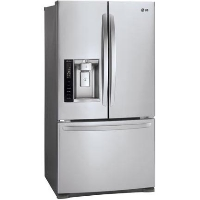 LG LFX28968ST 26.8 cu. ft. Ultra Large Capacity 3-Door French Door Refrigerator with Smart Cooling - New w/Tiny Cosmetic Blemish