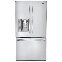 LG LFXS29766S Refrigerator 29 cu. ft. 3 French Door w/Door-in-Door - New w/Tiny Cosmetic Blemish