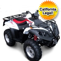 Linhai 400 Utility Style 4x4 Single Cylinder ATV (Fully Automatic)