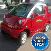 LSV Street Legal EV Low Speed Vehicle 2 Seater Electric Car