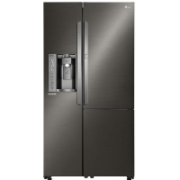 LG LSXS26366D Refrigerator 26 Cu. Ft. Black Stainless Steel Side-By-Side With Door-In-Door Frigde