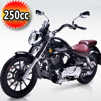 """Lifan KPR 200cc Motorcycle Street Legal Scooter Moped with 6 Speed Manual Trans & 17"""" Alloy Wheels - Cali Legal"""