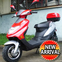 150cc Super Sport Scooter Moped - (Limited Supply!)