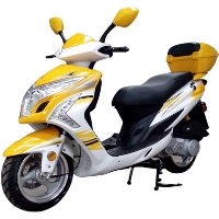 MC-137 150cc 4 Stroke Moped Scooter