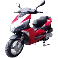 MC-140 50cc 4 Stroke Moped Scooter