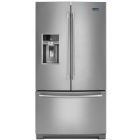 Maytag MFT2772HEZ Refrigerator 27 cu. ft. French Door Refrigerator in Fingerprint Resistant Stainless Steel Fridge (Scratch and Dent Model)