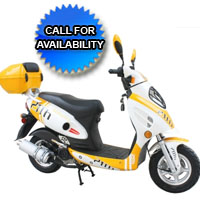 150cc 4 Stroke Velocity Moped Scooter
