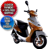 50cc 4 Stroke Velocity Moped Scooter