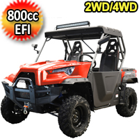 800cc 4 Stroke EFI Utility Vehicle 2WD/4WD UTV - MSU-800