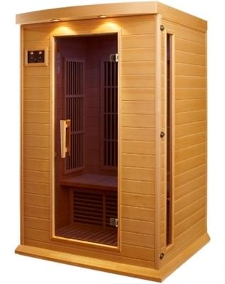 2 Person Sauna Carbon Far Infrared Maxxus Hemlock With