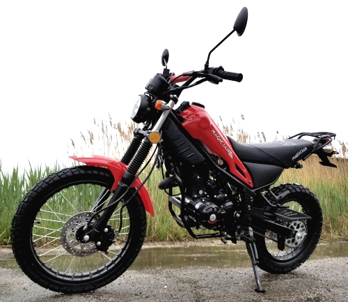 250cc Magician Dirt Bike Enduro Dual Sport 5 Speed Manual w/ Electric Start