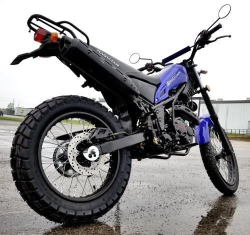 250cc Magician Dirt Bike Enduro Dual Sport 5 Speed Manual W
