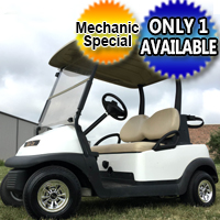 2012 48V Electric Club Car Precedent Golf Cart - Mechanic Special