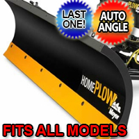 Fits All Models - Meyer 25000 Home Plow Hydraulically-Powered Lift w/Both Wireless & Wired Controllers - Auto-Angle Snow Plow