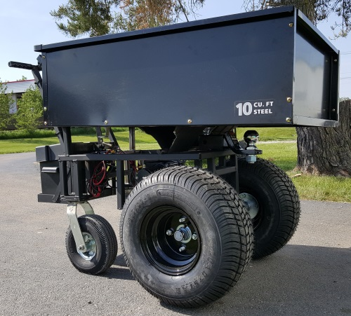 Motorized Cart Electric Powered W Trailer Dolly 10cu