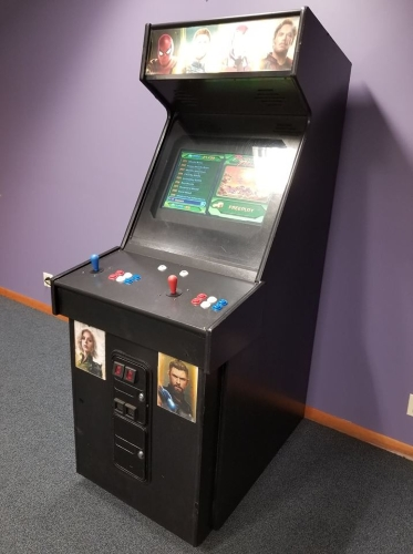 Multicade Arcade Game All In One Arcade Full Size Cabinet