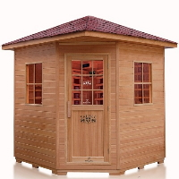 Large 4 -5  Person Outdoor FIR Far Infrared Sauna