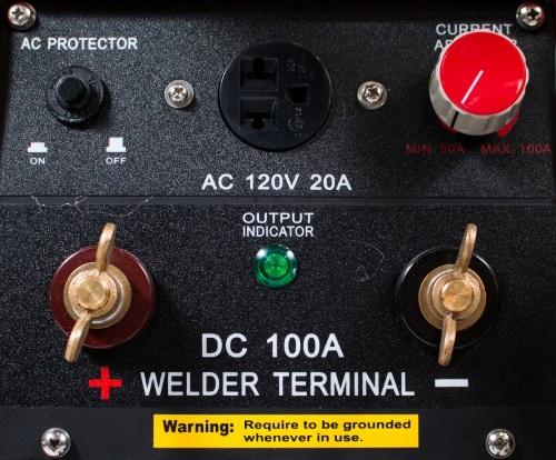 PDW100 PowerLand Gas Generator Welder 100AMP Recoil Start