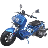 Brand New 2015 Redesigned Maddog 150cc Scooter with LED Lights
