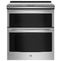 "GE Profile PS960SLSS 30"" Stainless Steel Slide-In Electric Double Oven Convection Range - New w/Tiny Cosmetic Blemish"