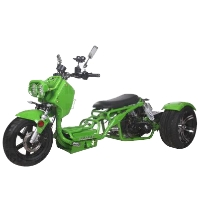 Brand New 50cc Maddog Air Cooled Single Cylinder 4-Stroke Trike Moped Scooter
