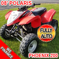 2008 Polaris Phoenix Atv Fully Automatic Four Wheeler With Reverse