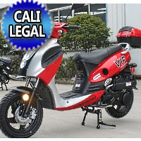150cc Powermax Scooter Moped - Cali Legal