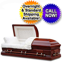 Solid Wood Casket - Pure Cherry Wood