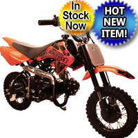 70cc Semi Auto Mini Size 4 Stroke Dirt Bike
