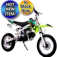 125cc Manual Clutch Mid Size Coolster QG-214FC Dirt Bike