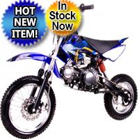 125cc Semi Auto Mid Size Coolster QG-214S Dirt Bike