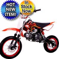 125cc Manual Clutch Mid Size Coolster QG-214 Dirt Bike