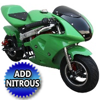 40cc Fully Auto Mini 4-Stroke Pull Start Super Bike