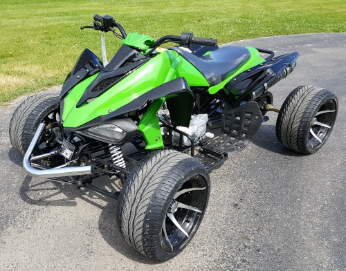 125cc Atv For Sale >> R12 125cc Atv Semi Auto 3 Speed With Reverse
