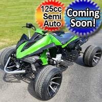 R12 125cc ATV Semi-Auto 3 Speed With Reverse