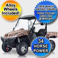 500cc Ranch Pony UTV Utility Vehicle