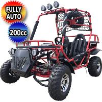 200 Rancher Go Kart 4 Stroke Gas Dune Buggy 170cc - RANCHER 200GK-2