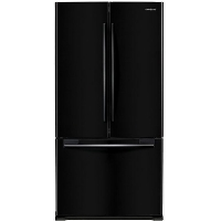 Samsung RF18HFENBBC Refrigerator 18 cu. ft. Counter Depth 3 Door French Door Fridge - Black - Scratch/Dent