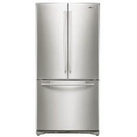 Samsung RF18HFENBSR Refrigerator 17.5 cu. ft. Counter Depth 3 Door French Door Fridge - Stainless Steel - Scratch/Dent