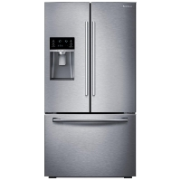 Samsung RF23HCEDBSR Refrigerator 22.5 cu. ft. French Door Fridge - Stainless Steel - Scratch/Dent