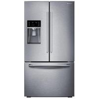 Samsung RF23HCEDBSR Refrigerator 22.5 cu. ft. French Door Fridge - Stainless Steel - Scratch/Dent