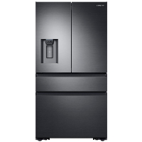 Samsung RF23M8070SG Refrigerator 22.6 cu. ft. 4-Door French Door Refrigerator with Recessed Handle in Stainless Steel Counter Depth Fridge - Scratch/Dent