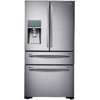 Samsung RF24FSEDBSR Refrigerator 24 cu. ft. Counter-Depth 4-Door Stainless Steel Fridge - Scratch/Dent