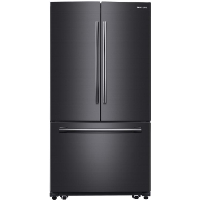"Samsung RF260BEAESG Refrigerator 36"" 25.5 cu. ft. Black Stainless Steel French Door Energy Star Fridge - Scratch/Dent"