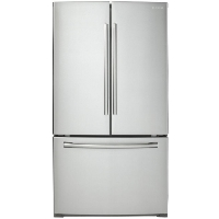 Samsung RF260BEAESR Refrigerator 25.5 cu. ft. French Door Fridge - Stainless Steel - Scratch/Dent