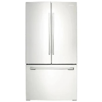 Samsung RF260BEAEWW Refrigerator 25.5 cu. ft. French Door Fridge - White - Scratch/Dent
